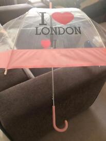 I ❤️ London umbrella