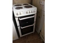 Zanussi white fooker freestanding electric must go quickly