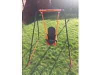 Baby outdoor swing