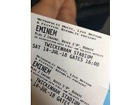 1 x Eminem standing ticket twickenham saturday 14 July
