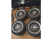Mercedes benz 5x112 chrome alloy wheels alloys