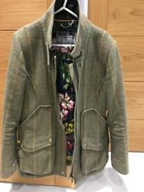 Joules ladies Mr Toad field coat size 12