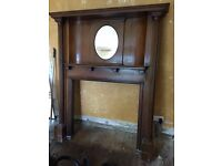 Beautiful Antique Oak fire surround....Priced to sell.