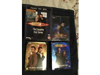 Dr.Who series 1-4 DVDs used