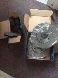 Vw Polo Brake discs and pads