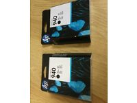 HP Officejet 940 Print Cartridge [Original printhead] Black X2