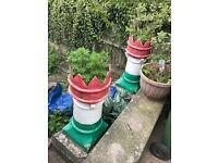 Italian plant pots