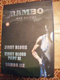 Rambo - DVD trilogy - 3 disc box set