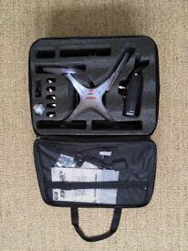 Syma X5C 2.4G quadcopter drone HD camera plus extras