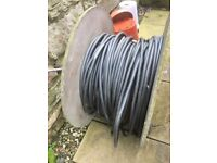 Large roll of Armoured Electrical cable