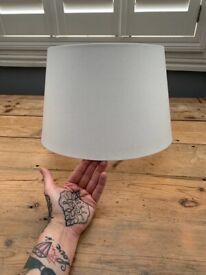 Simple white lamp shade