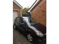 2006 Ford Fiesta Zetec mark 6 1.25 4 door excellent condition 1 lady owner