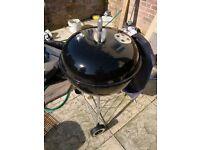 Webber barbecue bbq with cover - black . Hemel Hempstead, Hertfordshire.