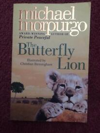 The butterfly lion book