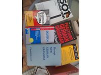 German language and grammar selection - 7 books - undergraduate level