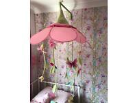 Children's flower canopy