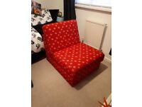 Chair bed (hardly used)