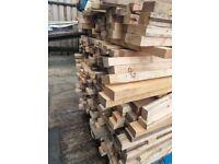 Pallet of timber skids