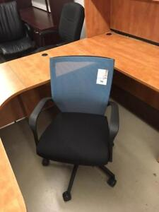NEW Office Furniture Matched Pair of Chairs, 1 Task, 1 Guest, $98.00 each