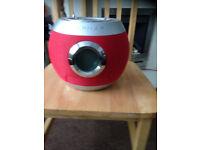 NAFNAF redball mini stereo for sale, cd radio player