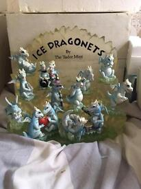 Ice Dragonets by The Tudor Mint (Full collection with rare stands)