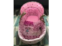 Clair de lune my dolly Moses basket