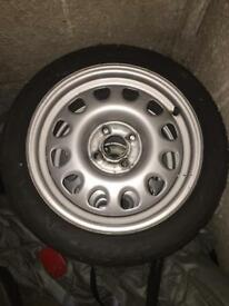 VW Golf G60 Steel Wheels with Tyres
