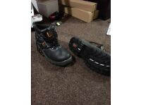Safety boots, Steel toe cap