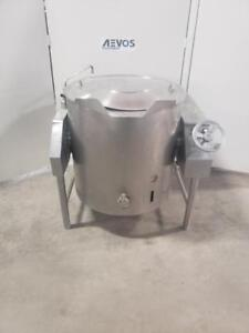 ESCAN DIVISION KTLE-60 Réservoir double paroi électrique basculante 60 gallons