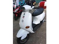 Vespa ET 4 125 2003 registered as 50cc £650