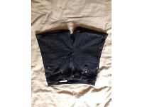 Black High-waisted H&M Ladies Shorts US4 Stretchy