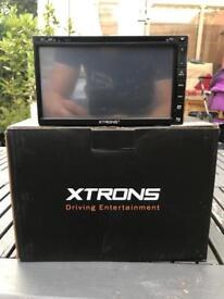 Xtrons 2 din radio mp3 sat nav gps