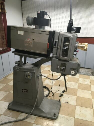 Century 35mm film projector - complete, with manuals and extras