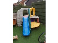 little tykes jungle climbing frame used but in great condition