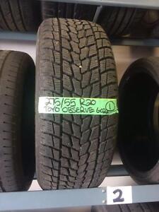 275/55/20 Toyo Observe G02 winter tire  Ford Tundra Chev GMC
