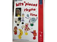 Brand New Learning through Play Bitz and Pieces Rhyme time