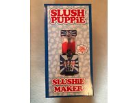 Brand New Slush Puppy Machine - Homemade Ice Slushie Drinks Machine