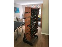 High quality Table Football (FussBall) Table - folds upright for easy storage