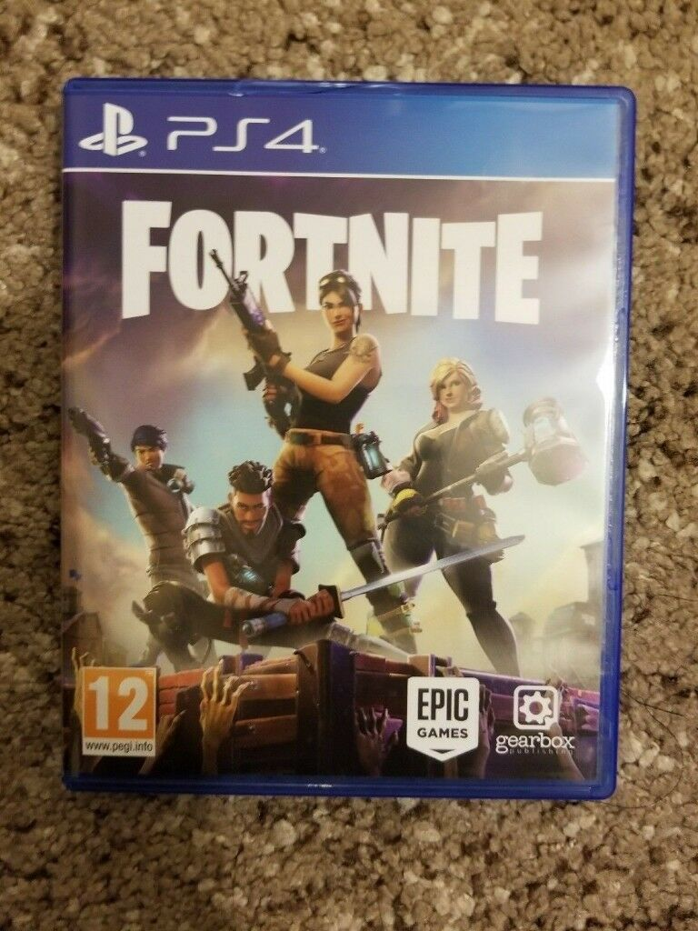 FORTNITE (game disc not download) - PS4 | in Leicester, Leicestershire |  Gumtree