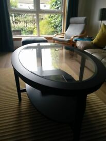 IKEA Malmsta Oval Coffee Table