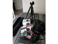 Canon eos 500 D REBEL T1I 15.1 mp 18-55 MM DIGITAL camera