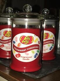 Jelly belly Strawberry Cheesecake Candle