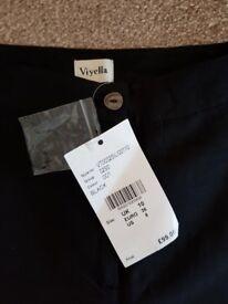 BNWT linen trousers by Viyella 10