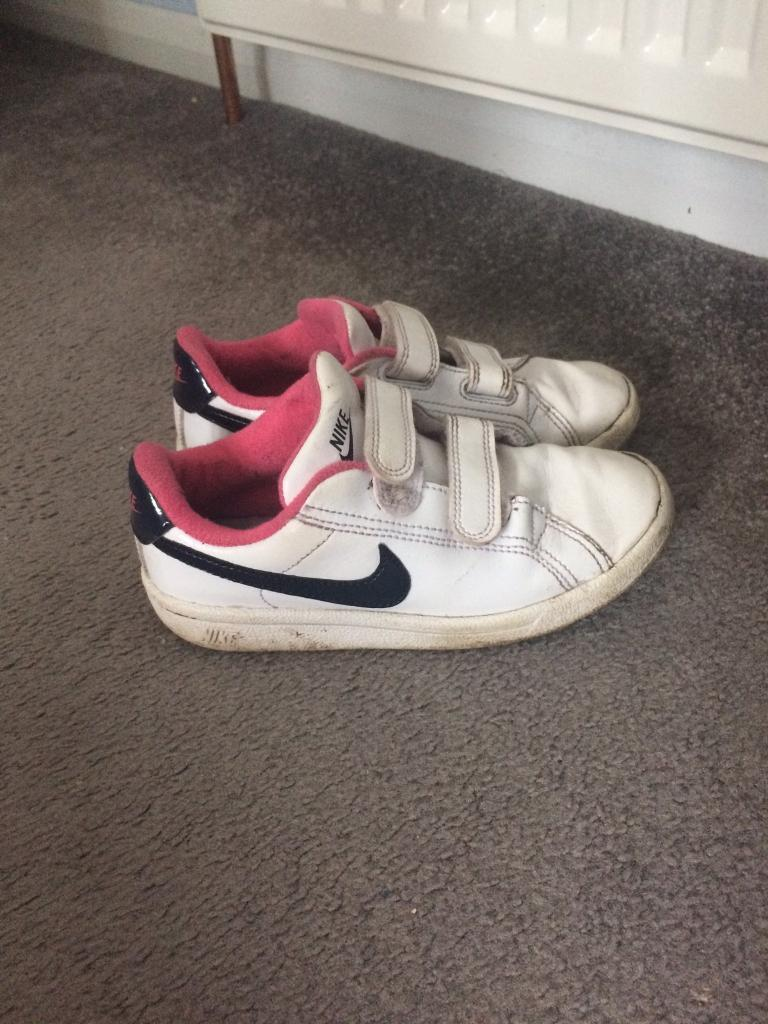 Girl Nike trainers size 12