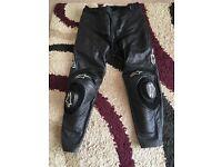 """Alpinestars Apex leathers 38"""" waist"""