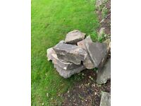 Garden stones (rockery stones) - large size 12-24 inch - free to collect