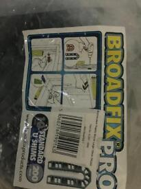 Broadcix large u shims approx 100