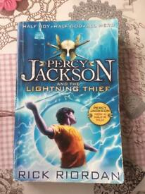 Percy Jackson lightening thief book