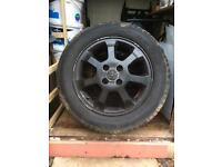 Corsa c 15 inch alloys with decent tyres.