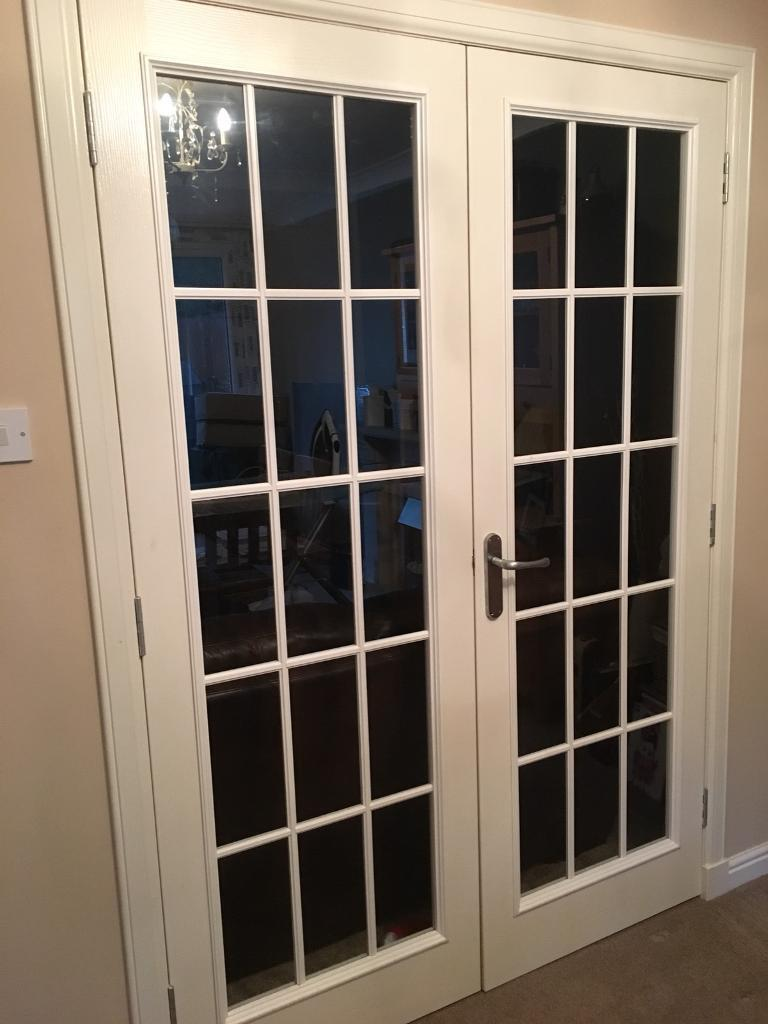 Internal White French Doors In Menstrie Clackmannanshire Gumtree